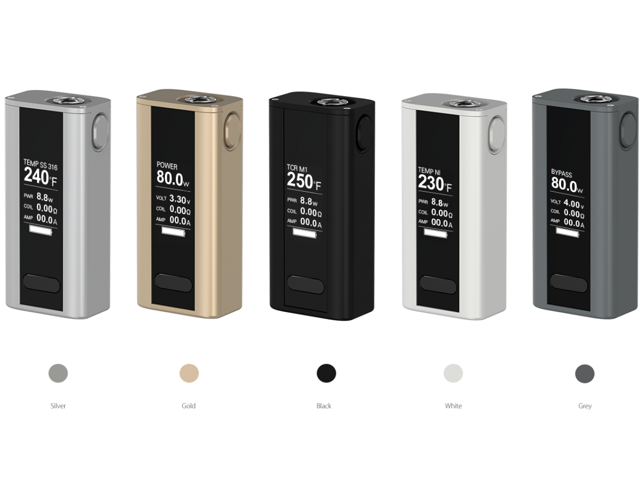 Cuboid Mini 80 W Battery Kit Joyetech